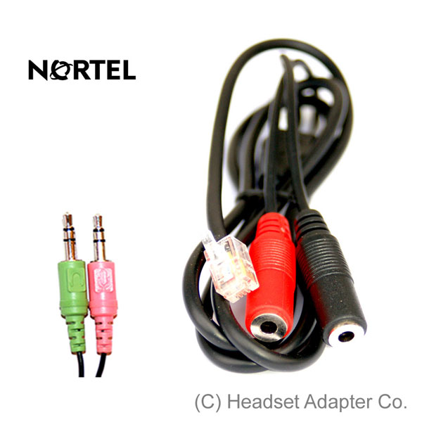 Nortel - PC Headset Adapter
